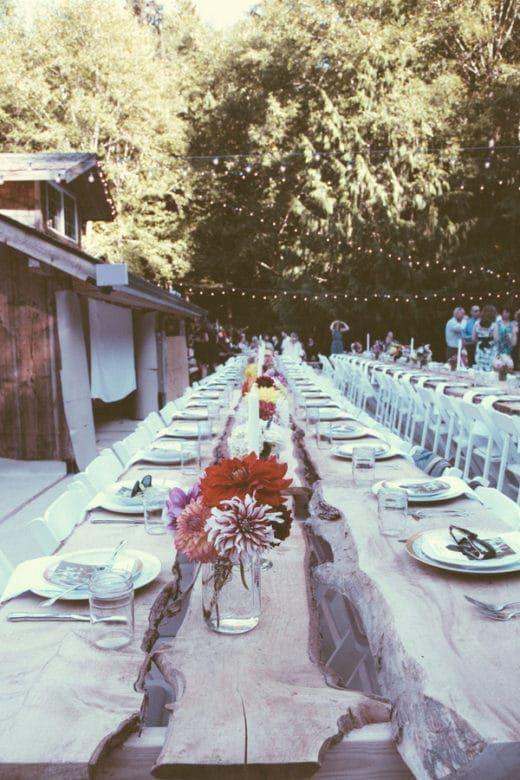 Boho Backyard Wedding - Rustic Wedding Chic - Boho Backyard Wedding Backyard Style Wedding Wedding, Backyard