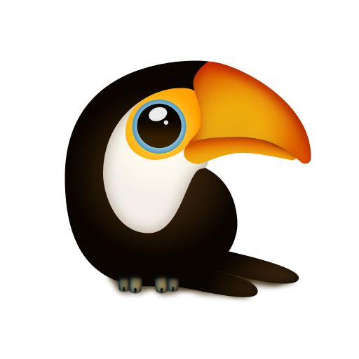 Graphic toucan reference