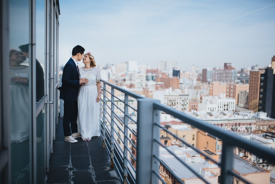 {  THE NEW YORK CITY HALL ELOPEMENT OF JILLIAN & ANDREW:  APRIL 29TH, 2015  }