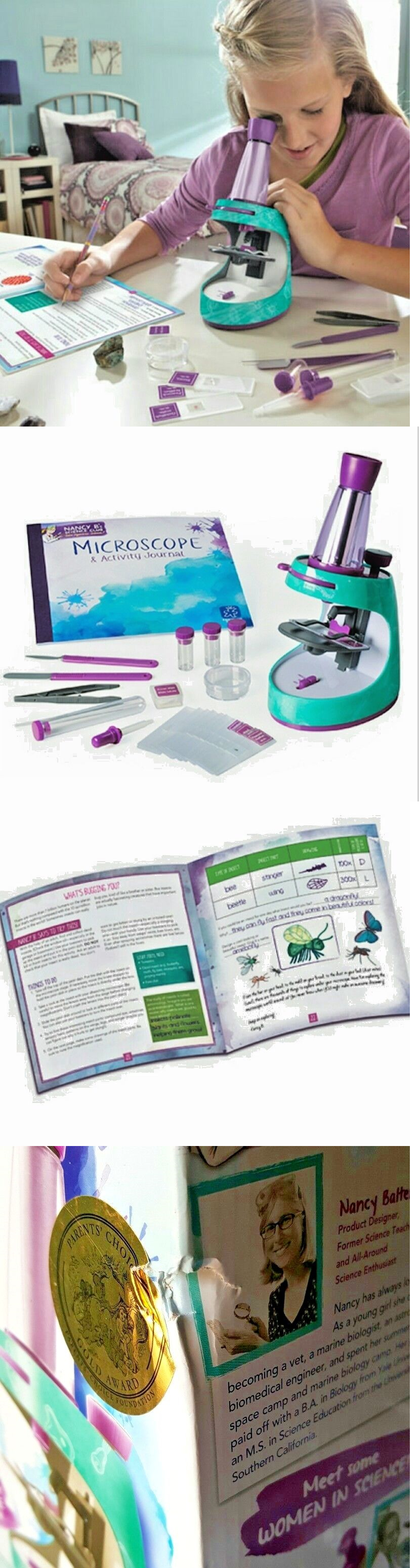 Microscopes and Chemistry 2568 Educational Toys For 8 Year Olds