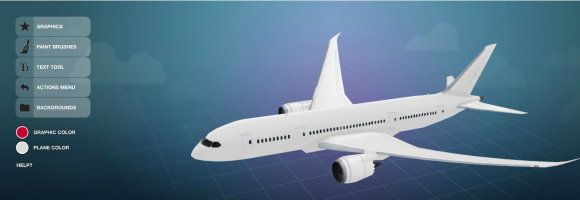 Design Your Own B787 Dreamliner Aircraft Private Jet And Air