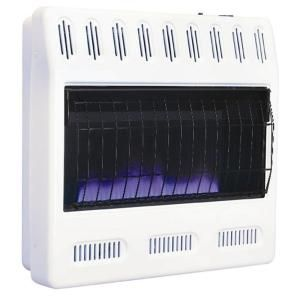 Williams 30 000 Btu Hr Blue Flame Heater Propane Gas With Automatic Thermostat 3056511 9 The Home Depot Propane Gas Heaters Propane Heater Gas Heater