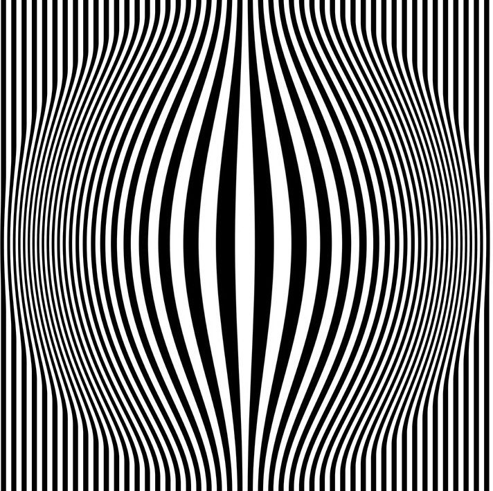Op Art Also Known As Optical Art Tricked The Eye In