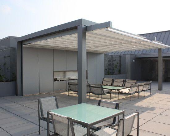 Modern Canopy Idea For Home Exterior