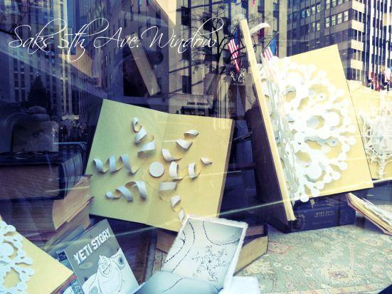 Saks Holiday Window  http://booksoutsidethebox.wordpress.com/2012/11/28/the-yeti-story-at-saks-fifth-avenue/