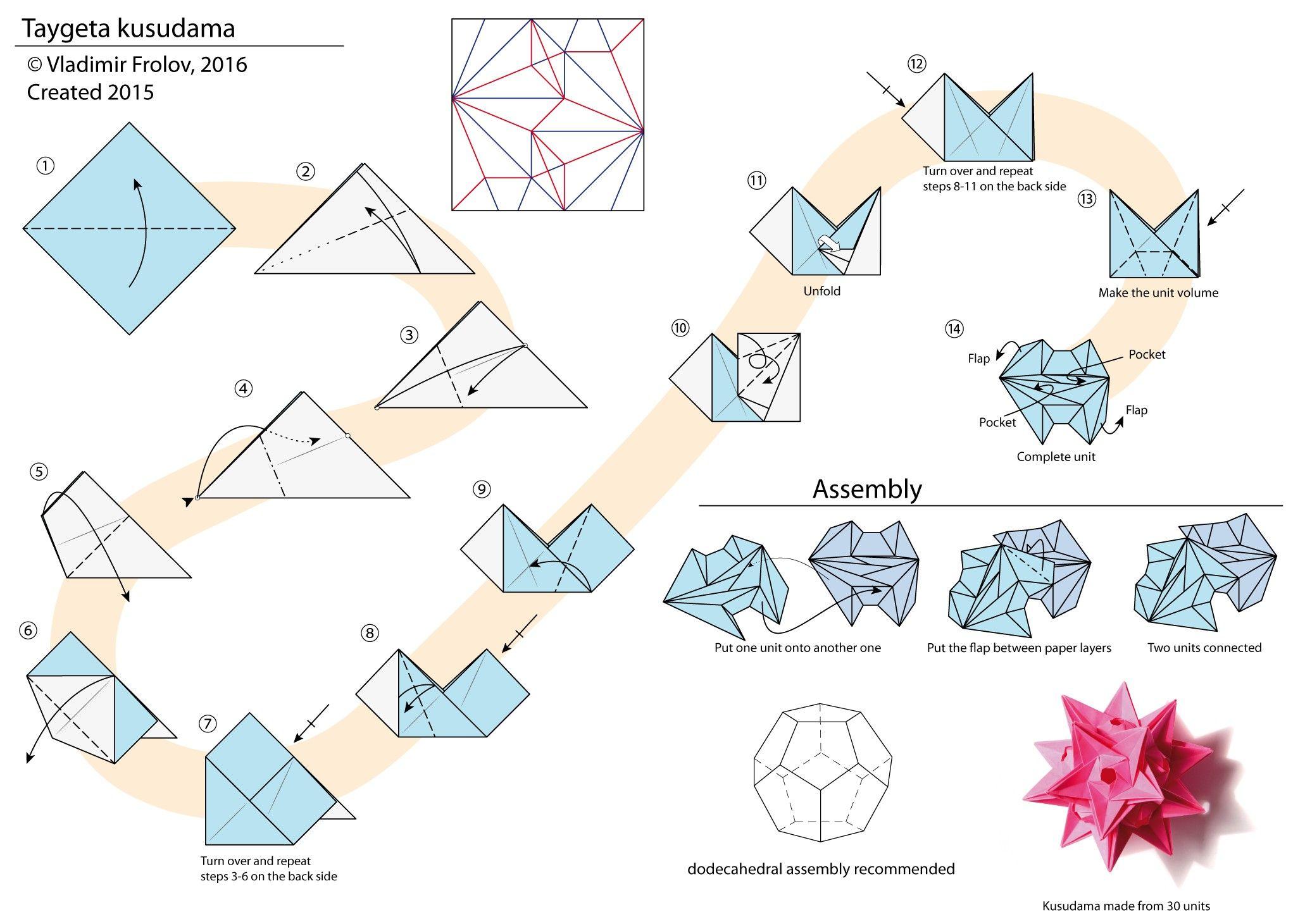 Taygeta by vlflorov kusudama pinterest origami and origami art origami art pooptronica