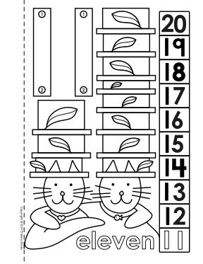 Dot To Dot Number Book 11 20 Activity Coloring Pages 1 10 And 1 20 Also Available Original Educational P Coloring Pages Teaching Numbers Rhyming Activities