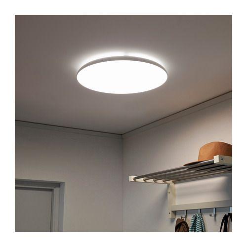 Deckenleuchte, LED NYMÅNE weiß in 2019 | Badezimmer | Deckenlampe ...