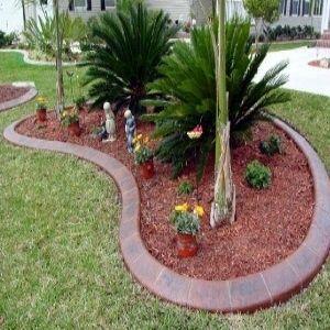 Few Amazing Garden Edging Ideas Jardin Con Palmeras Diseno De Jardin Jardines