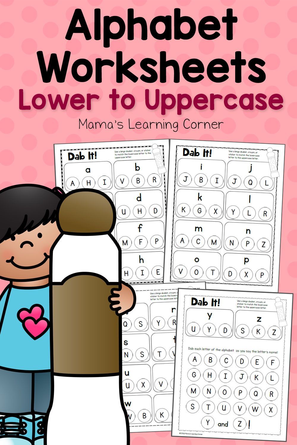 Dab It Alphabet Worksheets Match Lower And Uppercase Letters Alphabet Worksheets Learning Worksheets Preschool Letters [ 1500 x 1000 Pixel ]