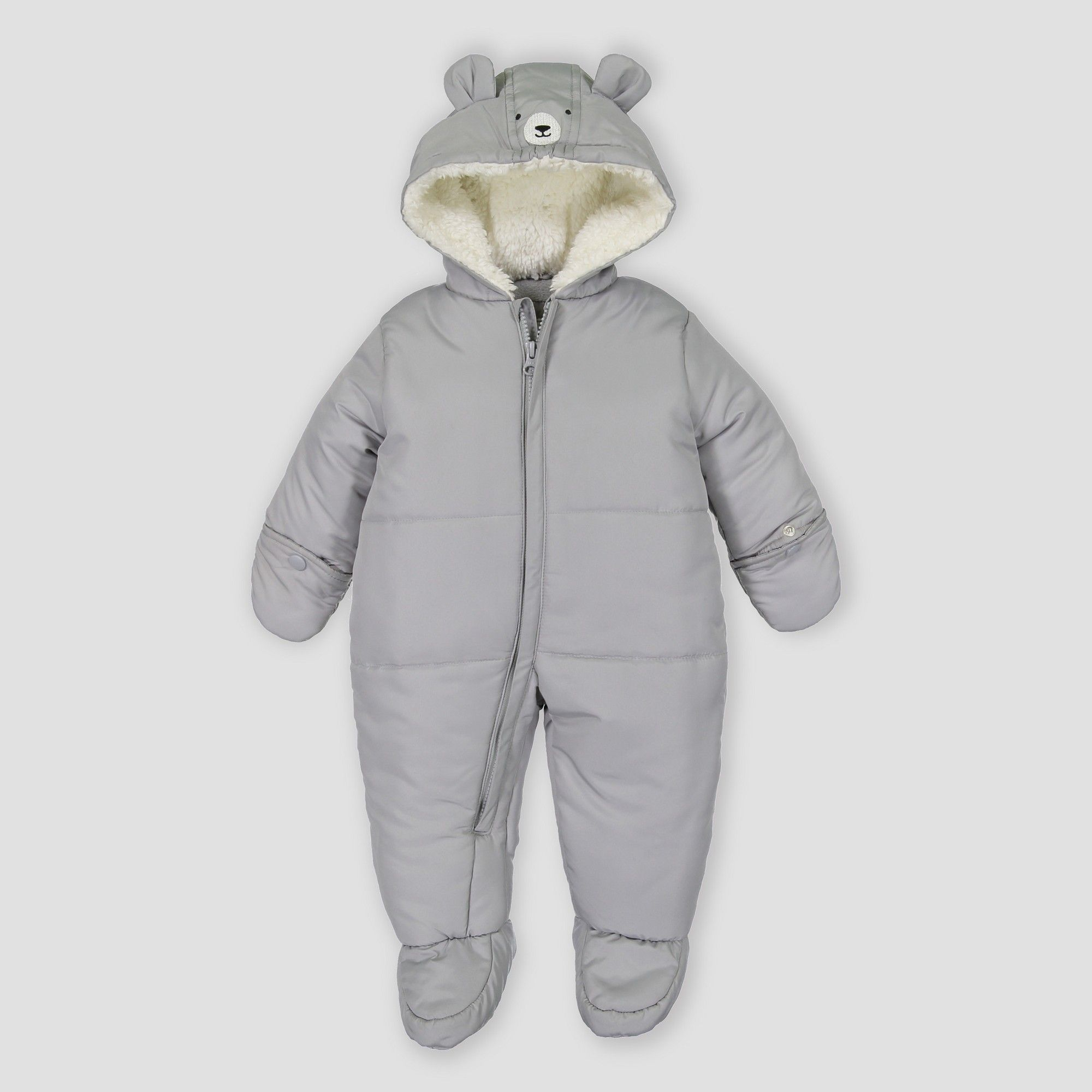 aa7bccecc Baby Boys' Snowsuit - Just One You made by carter's Gray Newborn ...