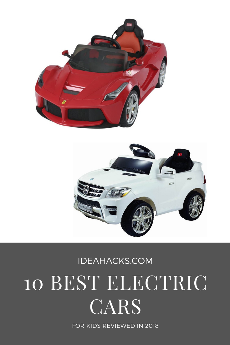 Top 10 Best Electric Cars For Kids Reviewed in 2019