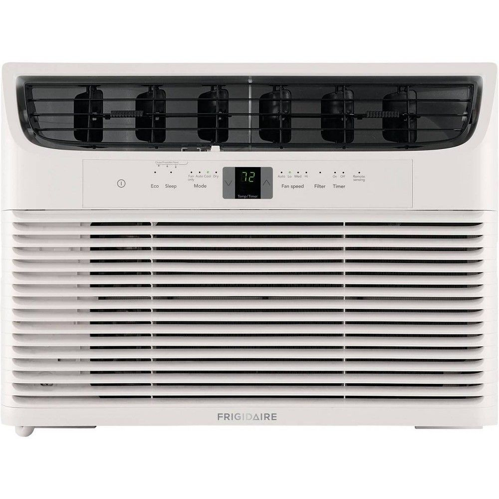 10000 Btu Window Mounted Room Air Conditioner Ffra102wa1 White Frigidaire Products In 2019 Compact Air Conditioner Frigidaire Air Conditioner Window