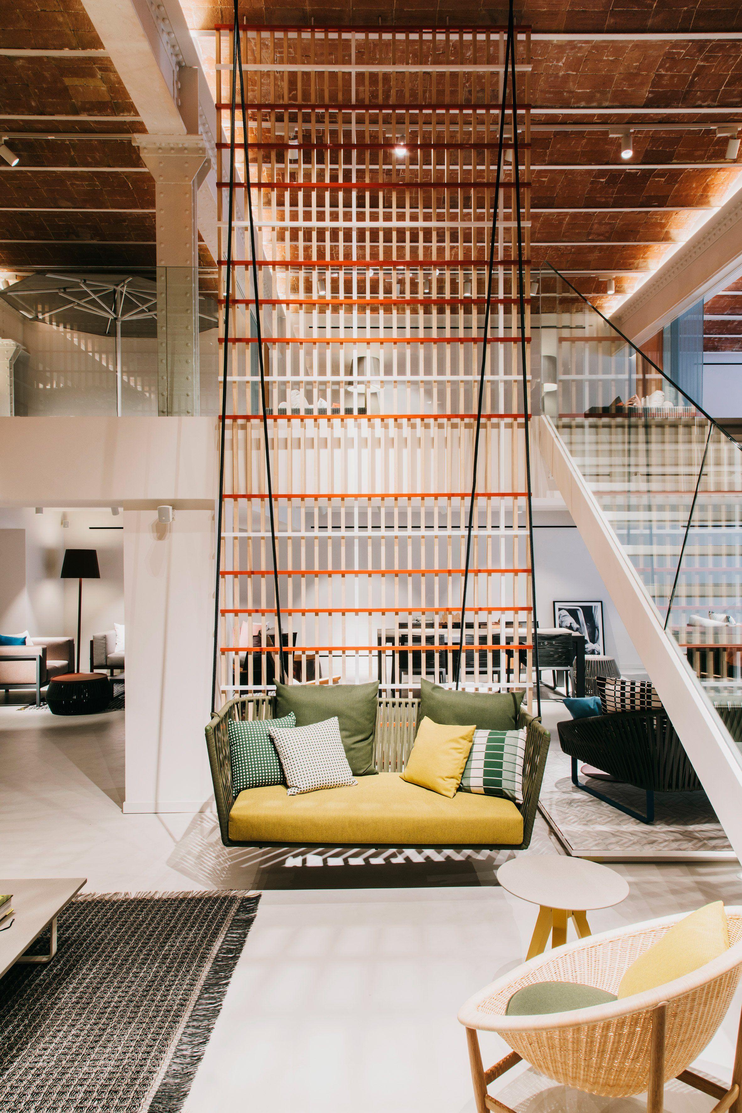 Patricia Urquiola has redesigned the Barcelona showroom of