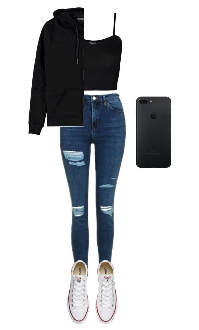 d50e3110ec71 tumblr outfit by valxgrunge on Polyvore featuring polyvore fashion style  Voi Jeans WearAll Topshop Converse clothing.