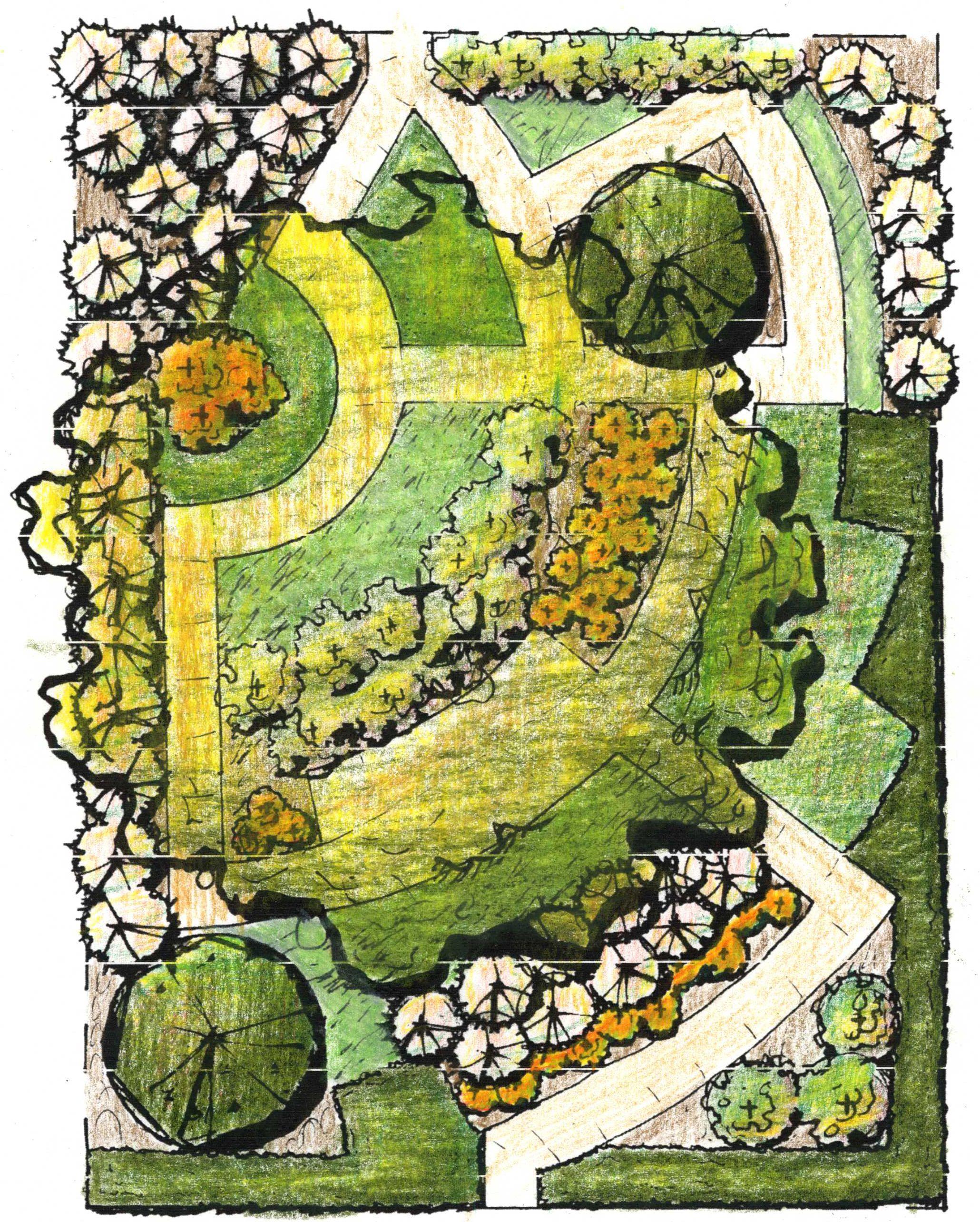 Spring planting jpeg bild 2060 2568 pixlar for Grid landscape design