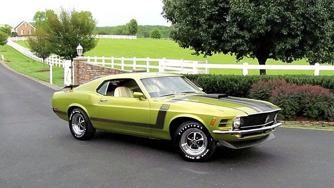 1970 Ford Mustang Boss 302 Fastback 302 Ci 4 Speed