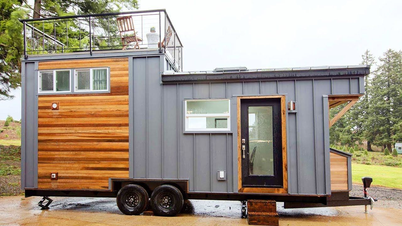 Beautiful The Midcentury Modern And Maribelle Blue Tiny House