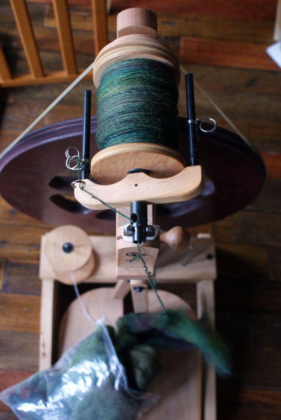 NEW ASHFORD KIWI 3 spinning wheel with folding treadles