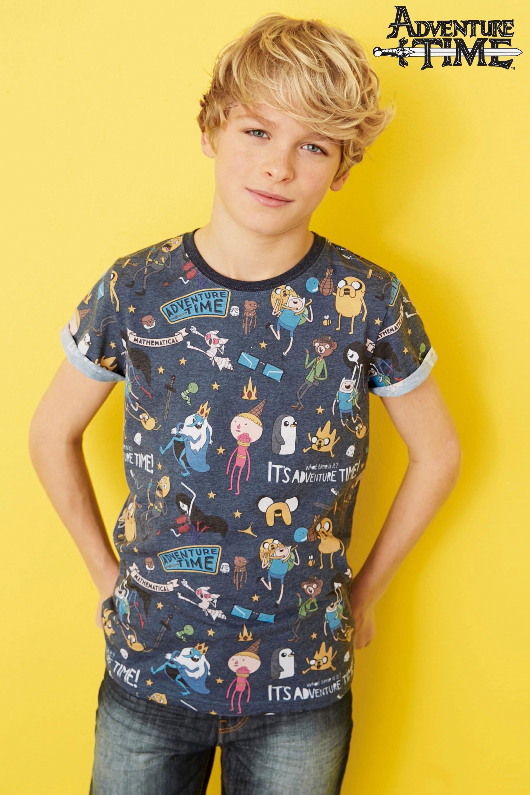 Shirt design online uk - Buy Navy Adventure Time T Shirt From The Next Uk Online Shop
