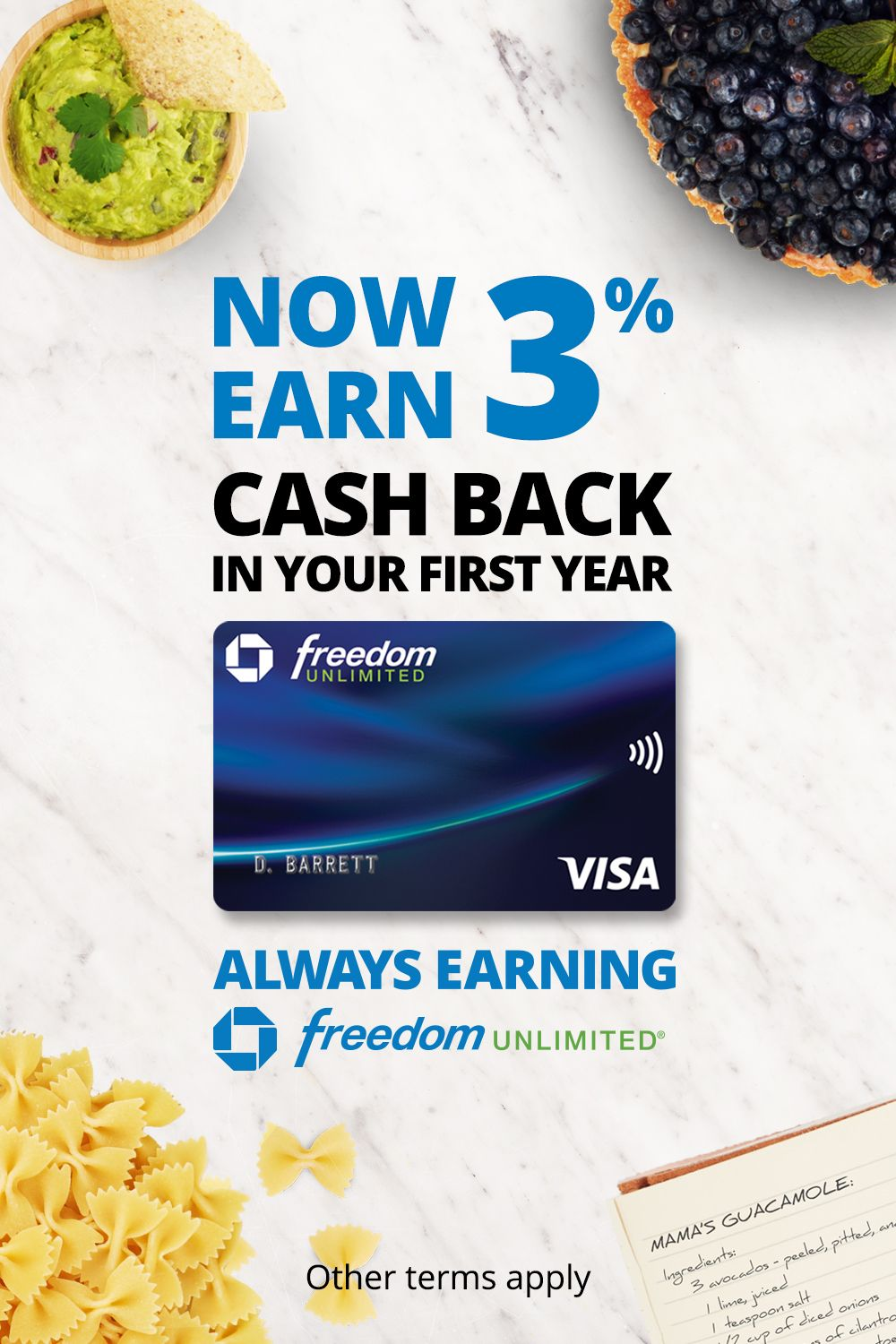 Get 0 Intro Apr For 15 Mos Plus No Annual Fee Chase Freedom Unlimited Always Earning