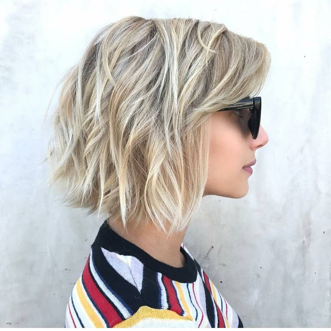 Chic Medium Bob Haircut For Women Shoulder Length Bob Hairstyle Designs Long Face Hairstyles Thick Hair Styles Bob Haircut For Fine Hair