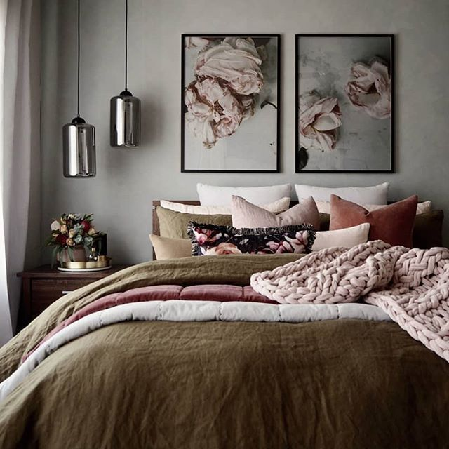 Warm Bedroom Decorating Ideas: 42 Warm Bedroom Ideas For Inspiring Makeover 2019