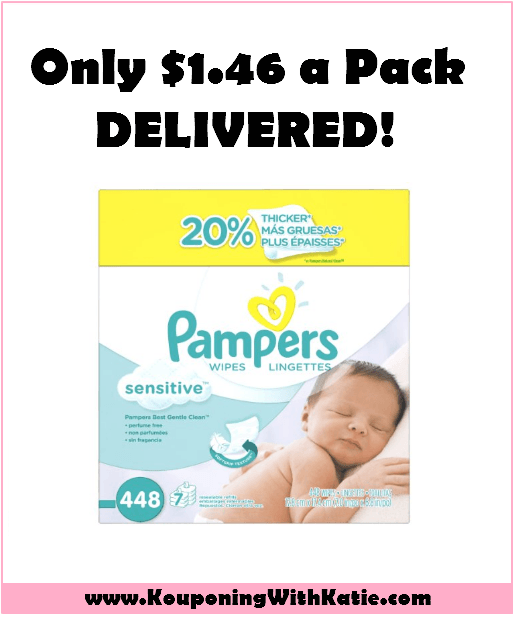Grab a Case of Pampers Wipes, Just $10.23 With FREE Shipping!!!! | KouponingWithKatie