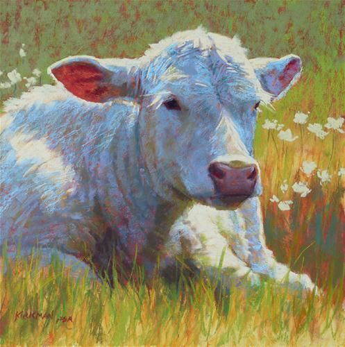 """Daisy"" - Original Fine Art for Sale - © Rita Kirkman"