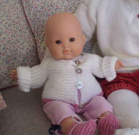 tuto gilet 36 cm gilet baby pinterest tuto tricot et vetement poupee. Black Bedroom Furniture Sets. Home Design Ideas