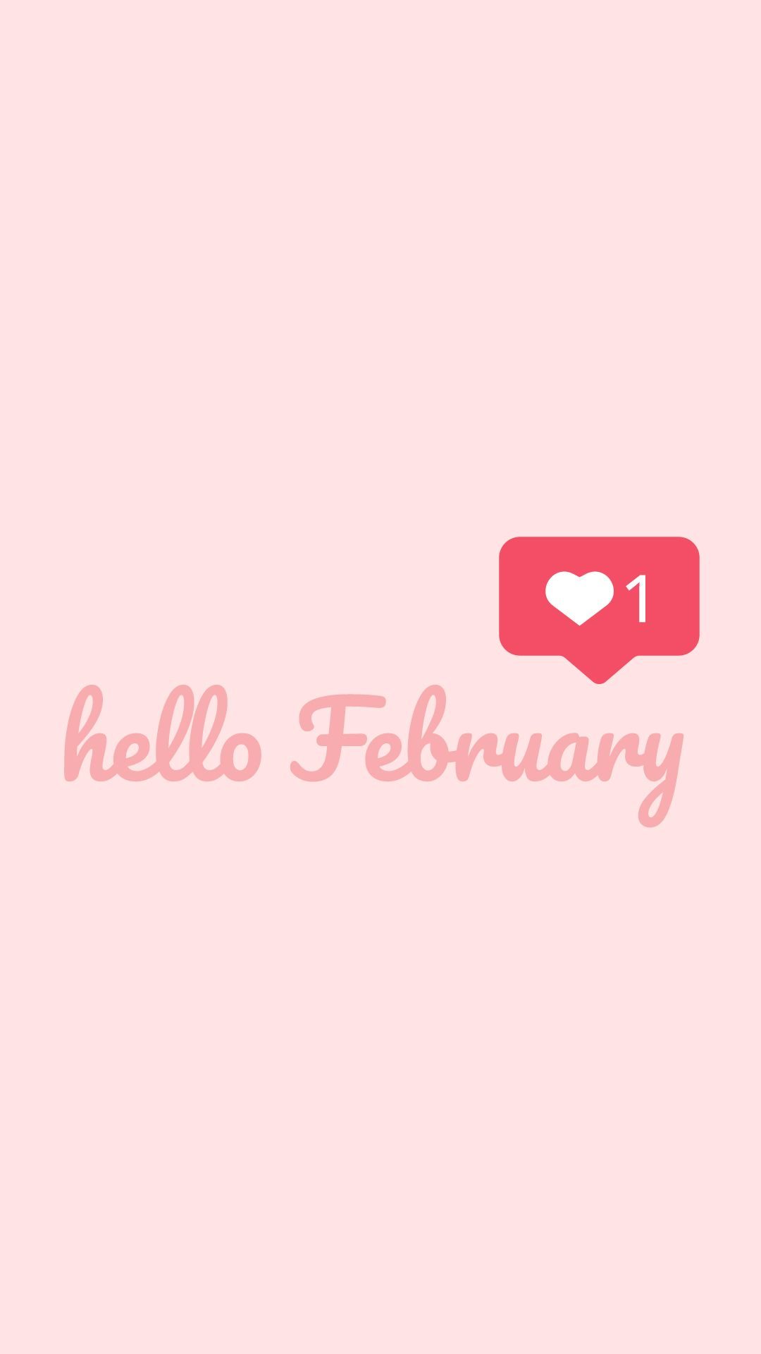 Hello February Mobile Wallpaper Iphone Android Valentines Wallpaper Iphone Valentines Day Wallpaper Phone Wallpapers Valentines Wallpaper