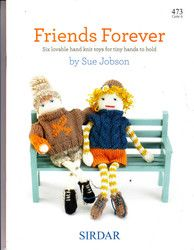 New Listing Started 473 Sirdar Friends Forever Knitted Toys by Sue Jobson £4.50
