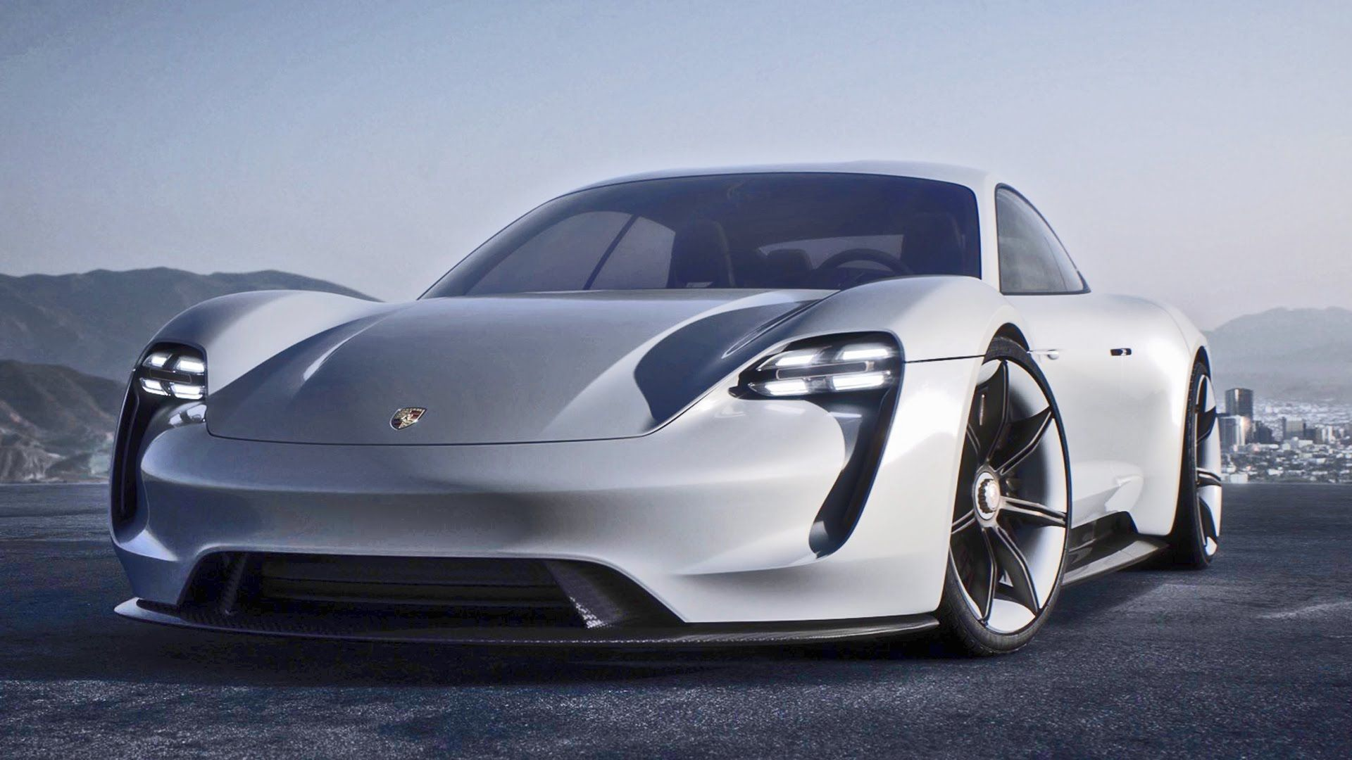 Porsche Is Introducing The First All Electrically Powered Four