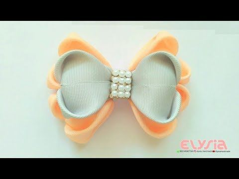 Butterfly Bow | DIY by Elysia Handmade - YouTube