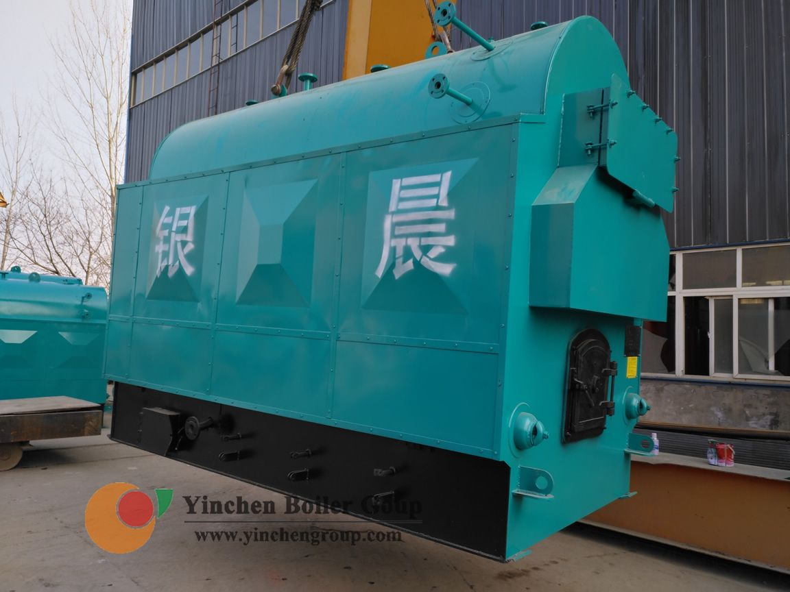 DZH type biomass boiler is a horizontal three-way water and fire ...