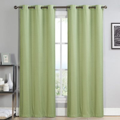 Luxury Home Alpine Thermal Blackout Single Curtain Panel Color