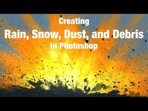 Rain, Snow, Dust & Debris - Photoshop Brushes | Art