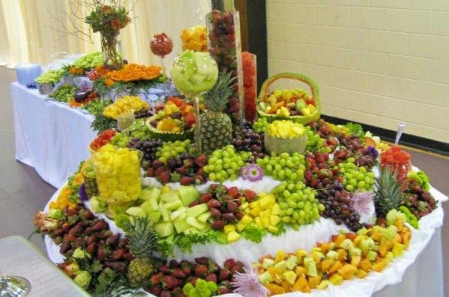 Wedding Banquet Food Photo Gallery Reception Table