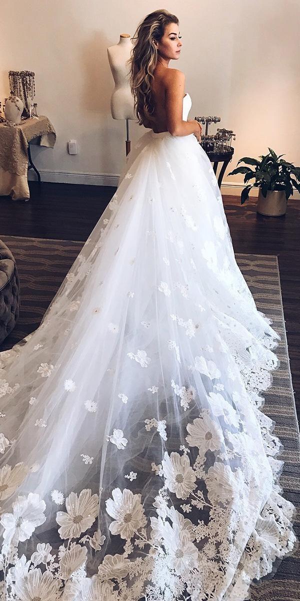 A Line Wedding Dresses 2020 2021 Collections Rochie De Mireasă