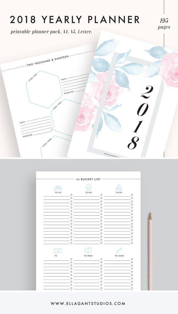 passion planner pdf 2018 a5