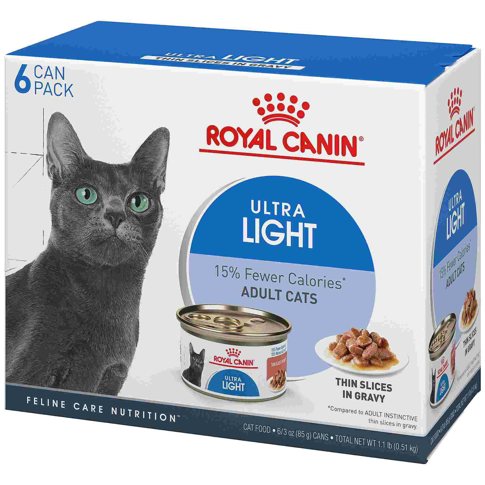 Royal Canin Feline Health Nutrition Ultra Light Wet Cat Food