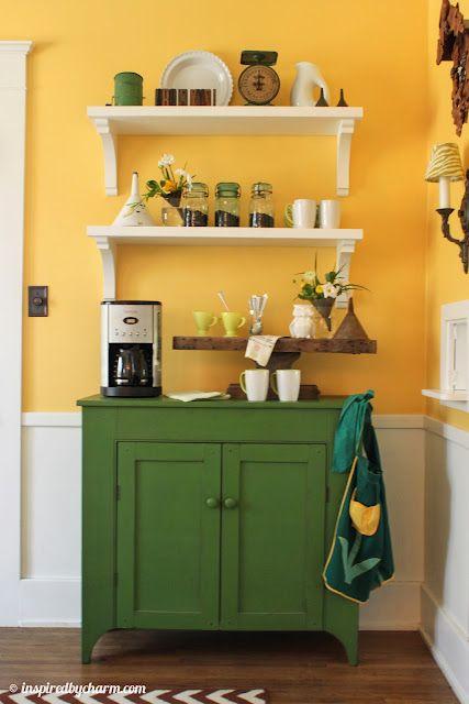 En mi cocina no sé si pondría tanto color ... pero esta foto , me en-can-ta !!!!
