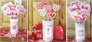 """Homemade Party Favors """"Valentine Cookie Container"""""""