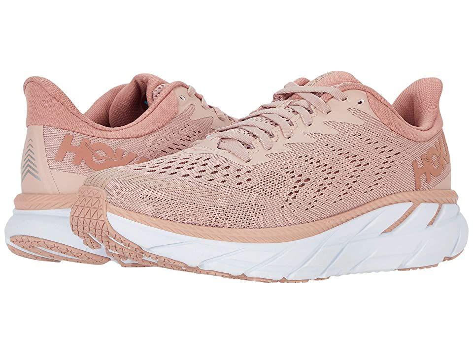 Hoka Clifton 7 Womens Running Shoes Pink