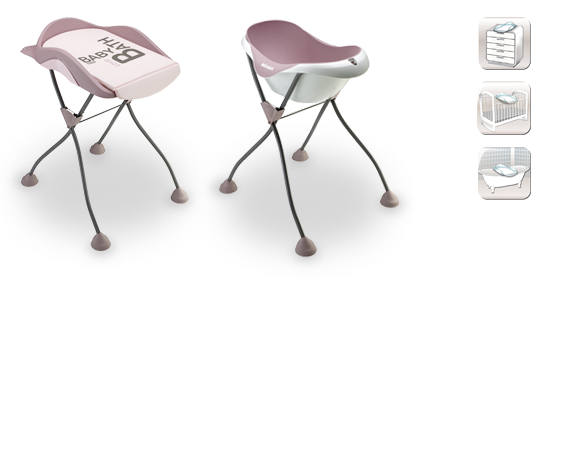 Bañera y cambiador modulable - beaba | BÉABA
