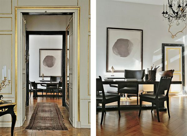 CHRISTIAN LIAIGRE: a minimalist with a big love for 18th century design