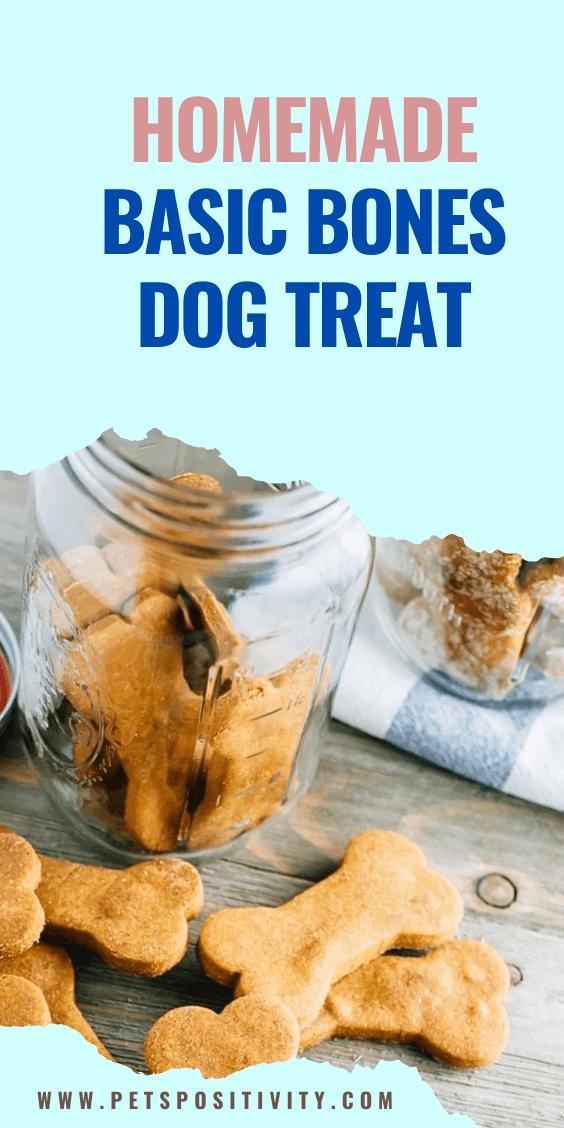HOMEMADE BASIC BONES DOG TREAT Recipes