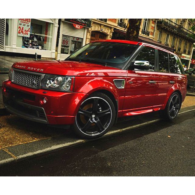 rouge sang one day pinterest cars red range rover and range rover sport. Black Bedroom Furniture Sets. Home Design Ideas