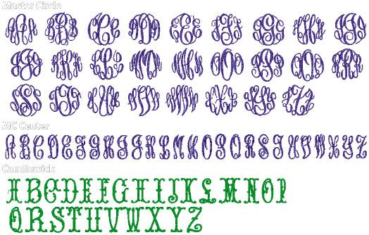 Download Image detail for -Alpha Pak 14 for Monogram Wizard Plus ...