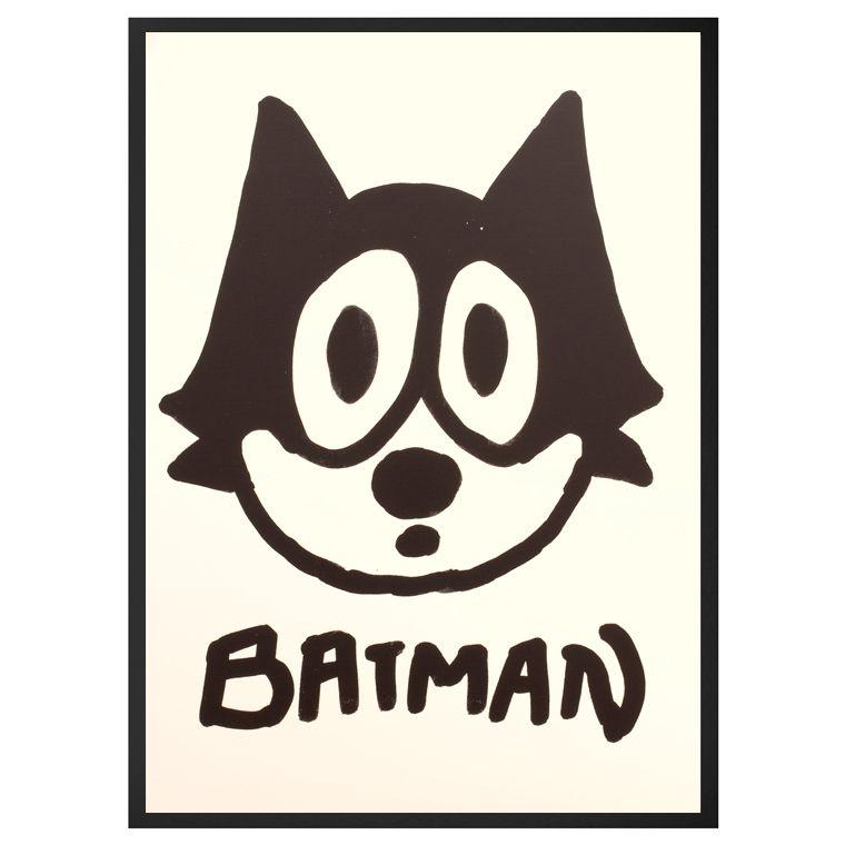 Ingmar // Batman Art Print by Mother Eleganza